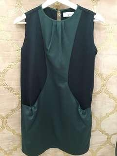 Gaudi Dress in Green/Blue