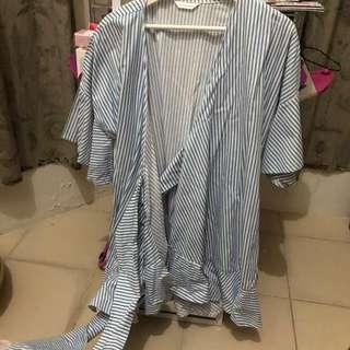 Morningsol Wrap Dress/Top