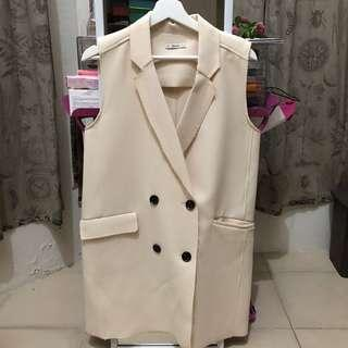 Bershka Outerwear in beige