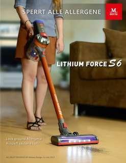 Mdovia Force S6 雙層HEPA過濾 鋰電無線吸塵器