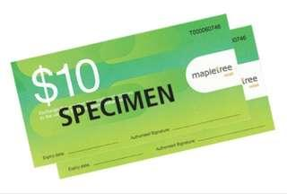 Mapletree voucher