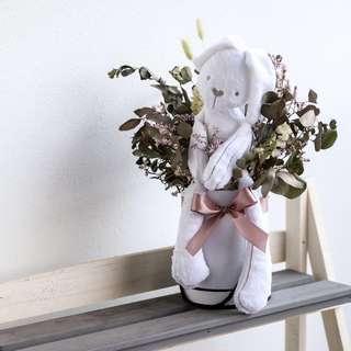 Bunny floral box