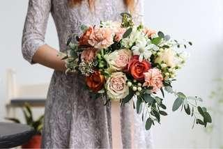 Bridal bouquet (cascading)
