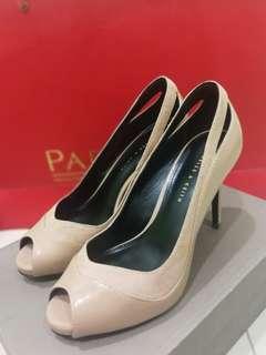 Charles & Keith heels (Nude) Preloved