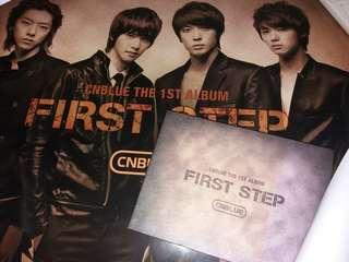 CNBLUE the first album FIRST STEP
