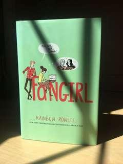 Fangirl, Book by Rainbow Rowell (Hardcover)
