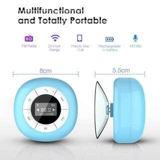 Multifunctional Portable Shower Speaker with LCD Display