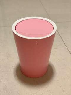 🚚 Daiso Pastel pink trash can