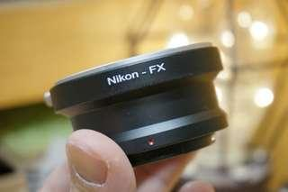[全新品] Nikon F Mount轉 FX Mount轉接環 adapter --- XH1 XT3 XT2 XT1 XT100 XT20 XT10 XPRO1 XPRO2 可用