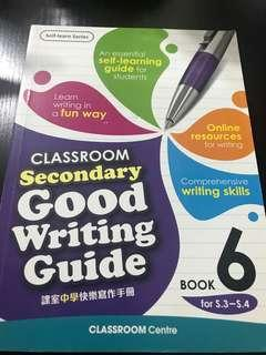 Classroom Secondary Good Writing Guide - Book 5