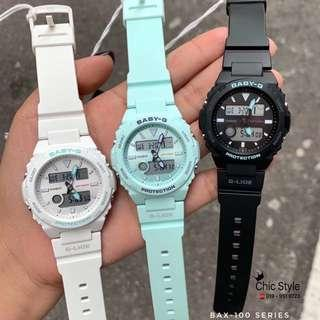 Ready Stock 🇲🇾 100% Original Casio Baby-G BAX-100
