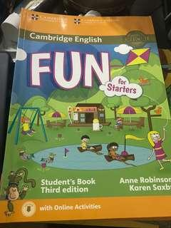 Cambridge English Fun for Starters - Students Book