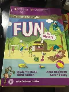 Cambridge English Fun for Movers - Student's Book