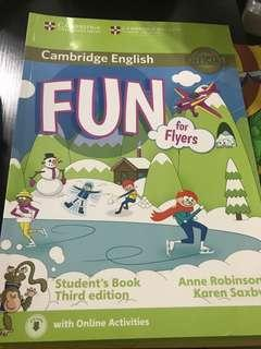 Cambridge English Fun for Flyers - Student's Book