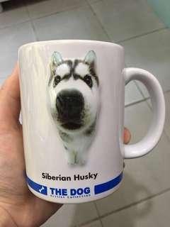 Free cute dog cup 免費可愛大頭狗水杯