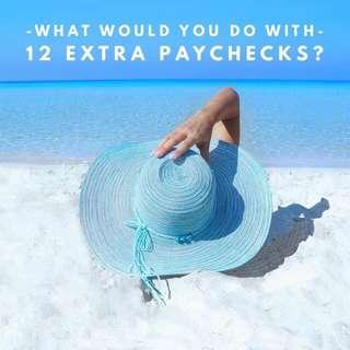 YOU DON'T HAVE TO LIVE PAY CHECK TO PAY CHECK