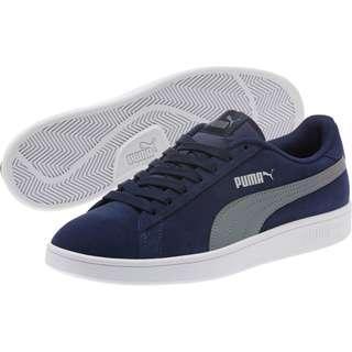 Puma Smash V2 Low Top Sneakers Peacoat-Quiet Shade-Puma Silver