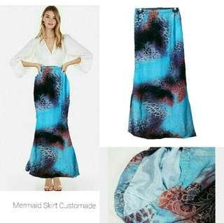 Customade Mermaid Long skirt