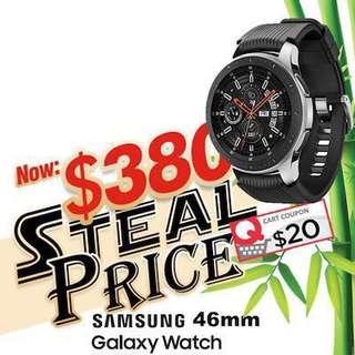 SAMSUNG Galaxy Watch 46mm 1 YEAR LOCAL SAMSUNG WARRANTY