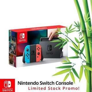 Nintendo SWITCH Console System 1 Year Warranty By Maxsoft