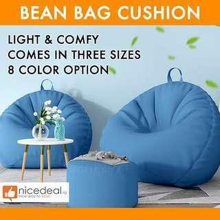 NEW) Lazy Bean Bag Sofa Premium Bean Bag Chair Soft Cushioning Bedding / Floor Chair / Cushion
