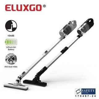 Eluxgo World Quietest Lightest Anti Dust Mite Cordless Handheld Vacuum Cleaner
