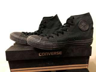 🚚 Converse 高筒黑色