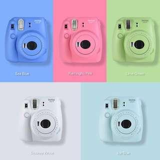 (Set)Fujifilm instax mini 9 Polaroid camera
