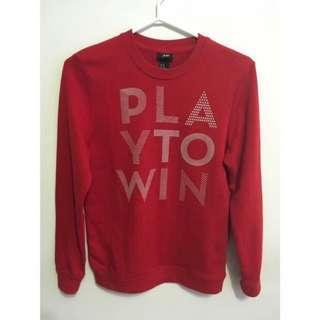 h&m sweater with cute lettering #SwapCA