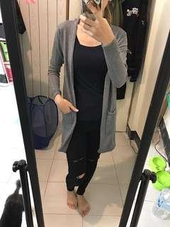 🚚 棉質合身長版外套