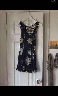Ecote summer floral dress