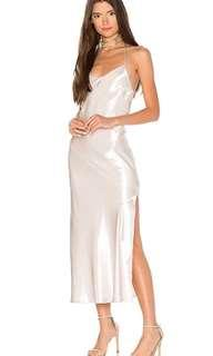 Bardot Pfeiffer Slip Dress in Pearl