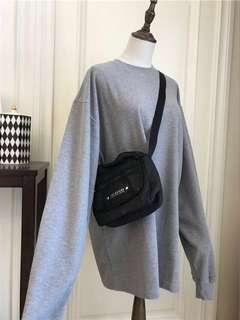 grey oversized ulzzang sweater