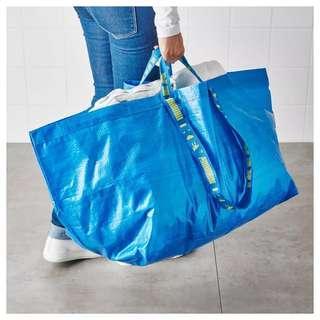 EasterSales -FRAKTA Ikea shopping bag Large size