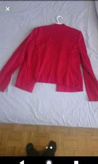 Large Red Blazer