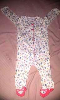 Carter's sleepsuit bayi