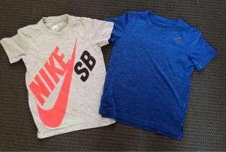Nike and adidas boys tops