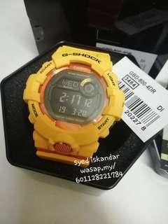 Gshock gbd-800-4 bluetooth (step tracker)