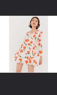 (INSTOCK) Tulip Wrap Dress