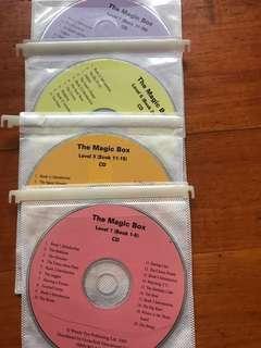 Magic Box CD一套8隻有齊1-40冊錄音