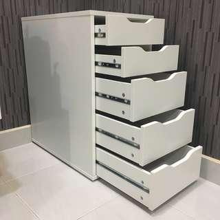 Ikea Alex Drawer 5 tiers Brand New Assembled