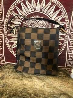 Vintage FENDI Shoulder Handbag