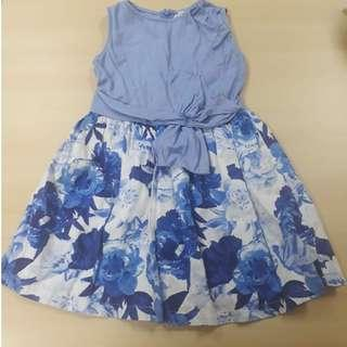 Pre-loved Gingersnaps Floral Dress (Size 14)