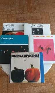 5 rare Stan Getz Japanese CDs for $600