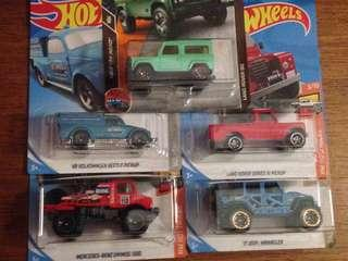 🔥mix hotwheels & matchbox🔥mixlot2