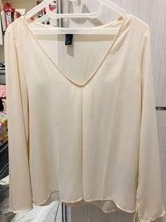 Forever21 Low Cut Blouse
