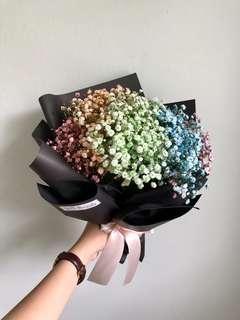 🚚 🎓 Graduation bouquet // Rainbow bouquet