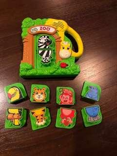 LeapFrog Zoo Educational Magnet Playset