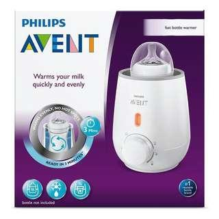 🚚 Philips Avent Bottle Warmer (brand new with warranty)