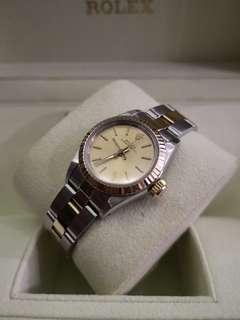 Rolex Vintage Ladies 67193 Half Gold  25mm Automatic